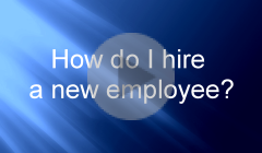 How do I hire a new employee?